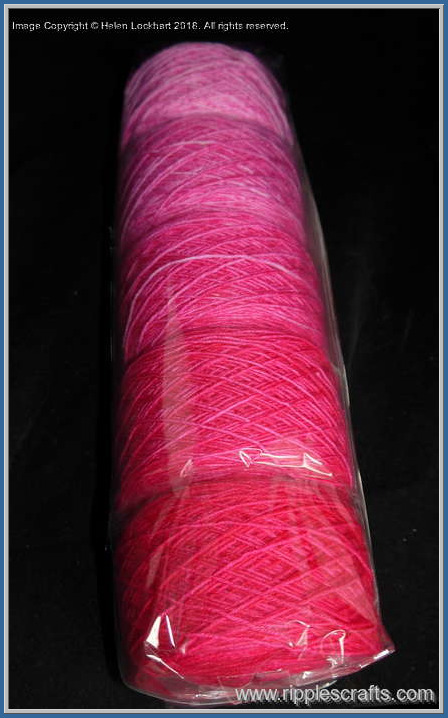 Sweet Pea Ripples (Reliable Sock Yarn)
