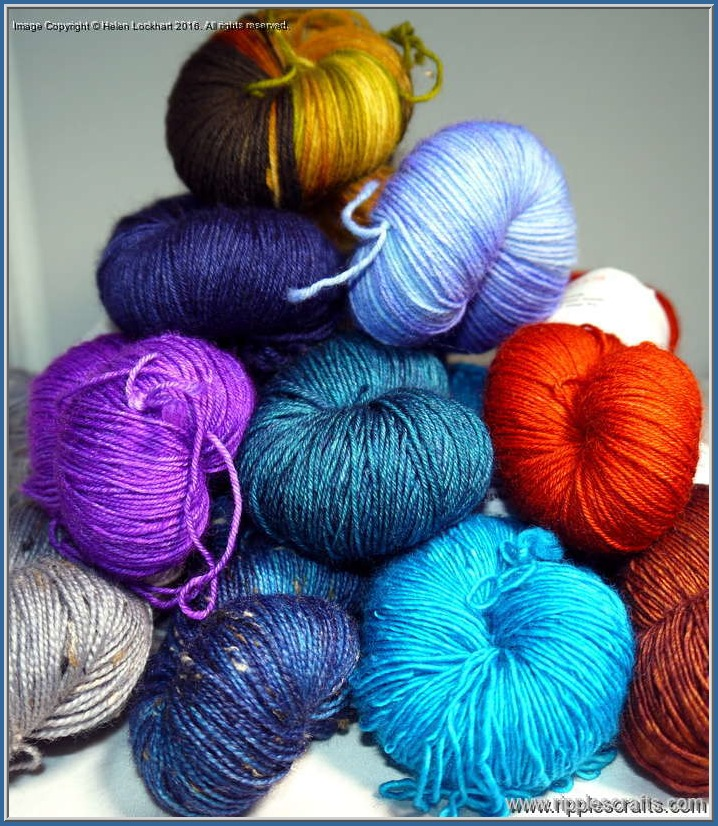 That Special Gift - Ready Made 4ply Yarn Stash